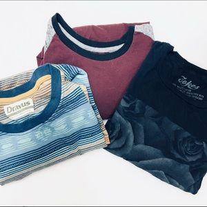 Men's T shirt Bundle sz L